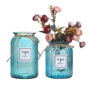 Outflower Vase en verre transparent de 14,5/x 10/x 7,5/cm 14.5*10*7.5CM rose