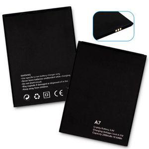 Batterie téléphone Mcdark 2800mAh Batterie Pour Blackview A7 Batterie