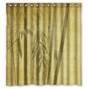 RIDEAU DE DOUCHE Rideau de douche zen : Bambous japonais