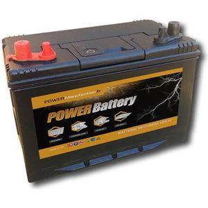 BATTERIE MOTEUR Batterie Bateau Décharge lente 12v 110ah