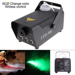MACHINE À FUMÉE LED 500W Machine à fumée LED couleur RVB /Éjecteur