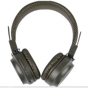 CASQUE - ÉCOUTEURS Casque bluetooth 5.0 audio Mp3 sans fil Ecouteur h