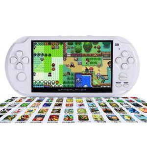 CONSOLE PSP Console de jeu 64 Bit 4.3 inch 8GB avec 1200 jeux