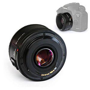 OBJECTIF 50mm F1.8 1:1.8 Lentille standard Focus AF MF pour