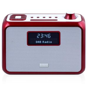 RADIO CD CASSETTE Poste Radio FM RNT/DAB+ Portable – AUGUST MB400 –