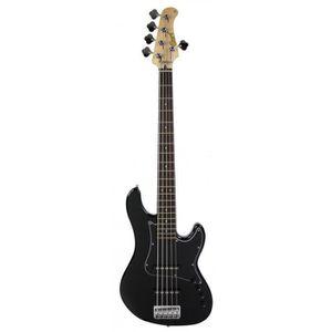 BASSE Cort GB35JJ Jazz - Noir brillant - Guitare basse 5