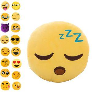 COUSSIN ELENXS® Coussin / Oreiller/ Pillow/ Peluche Emoji