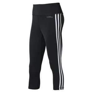 COLLANT DE RUNNING Legging femme adidas Design 2 Move 3-Stripes 3 4 8bfa96ae180