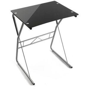 BUREAU  Table de bureau pour ordinateur coloris noir - L 6
