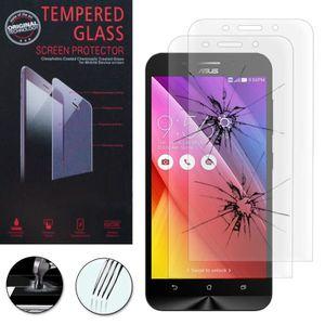 FILM PROTECT. TÉLÉPHONE Pour Asus Zenfone Max ZC550KL: Lot / Pack de 2 Fil