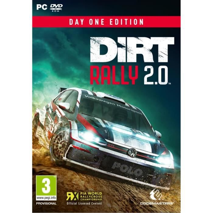 Dirt Rally 2.0 Day One Édition Jeu PC