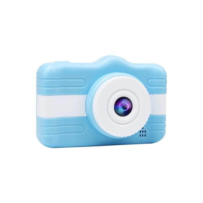 Mini-appareil-photo portatif d'enfants d'appareil-photo numérique d'enfants avec l'écran HD de 3,5 -(Bleu)