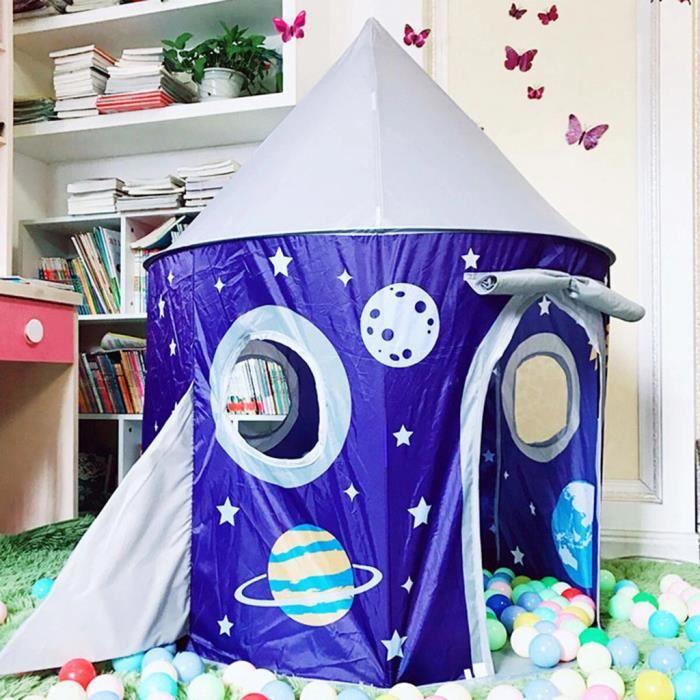Tente pliable de parc d'enfants de tente de jeu de château de princesse pour des jouets extérieurs d'intérieur _pian1846