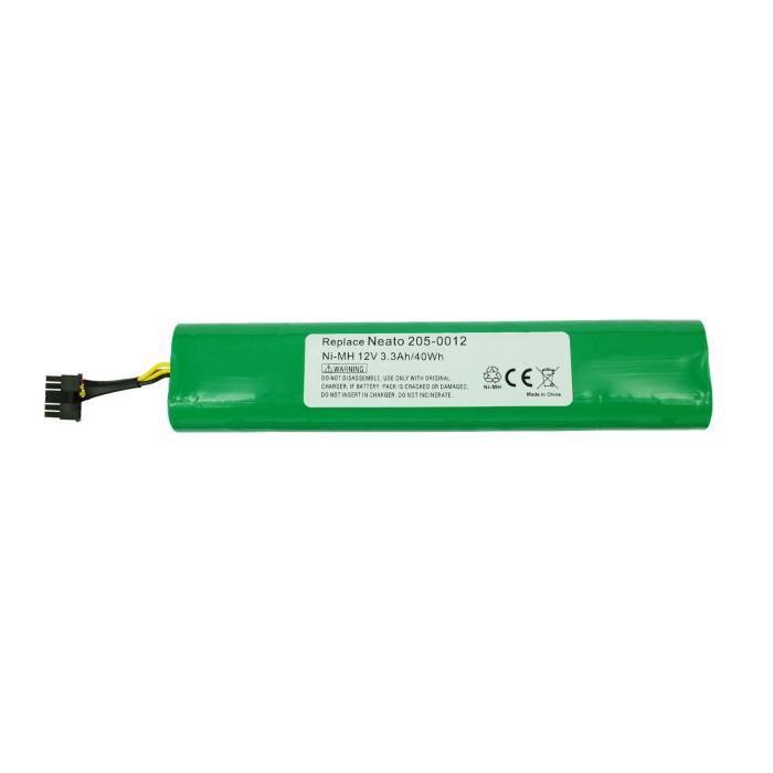 PowerSmart® Batterie NiMH 3600 mAh 12 V pour Neato 75, Botvac 85, Botvac 945-0129, Botvac D7500, Botvac D85, 205-0012