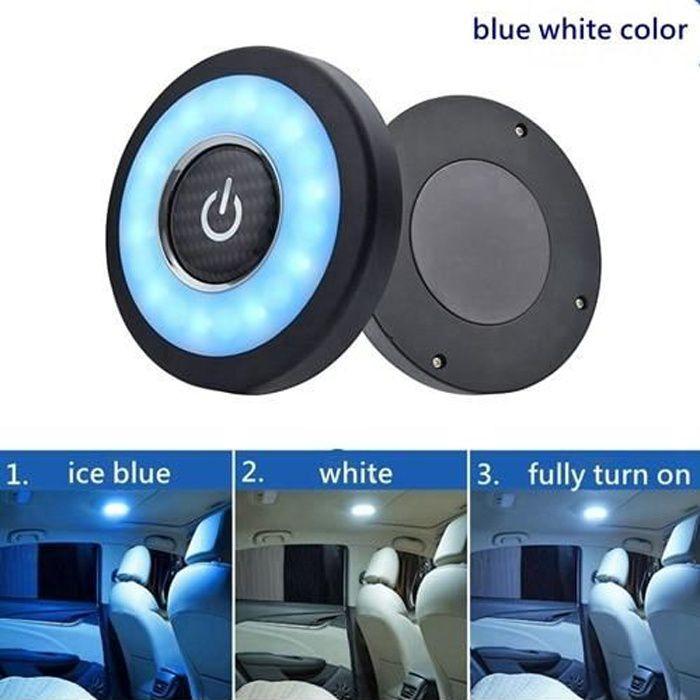 Lampe de lecture LED, accessoires d'intérieur de voiture, pour Suzuki Vitara Jimny Grand Vitara SXR blue white