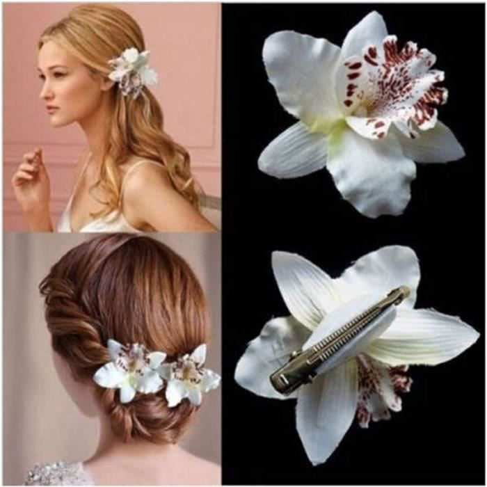 JSJJAWS Barrettes à Cheveux Décoration de Mariage Barrette Barrette Beach Coiffure Accessoires Femme Girl Bohême Bohême Bridal A660