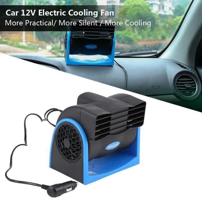 12V Mini climatiseur de Refroidisseur d\'air silencieux de vitesse réglable de ventilateurvéhicule automatique de voiture