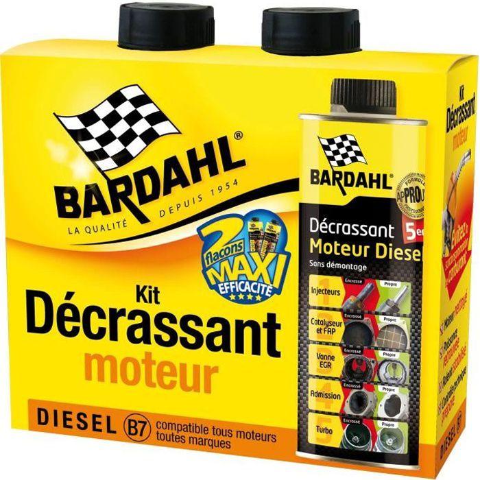 BARDAHL Pack Décrassant moteur Diésel 5 en 1 GSA