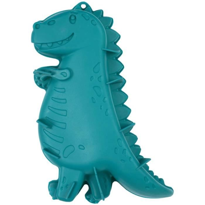 Moule à gâteau en silicone Dinosaure Turquoise