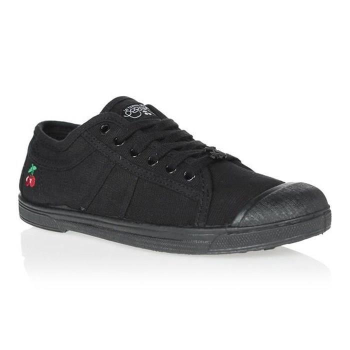 LE TEMPS DES CERISES Chaussures Basic 02 Mono Black Noir Femme