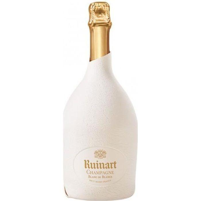 6x Ruinart Blanc de Blancs - Etui Seconde Peau - Champagne AOC