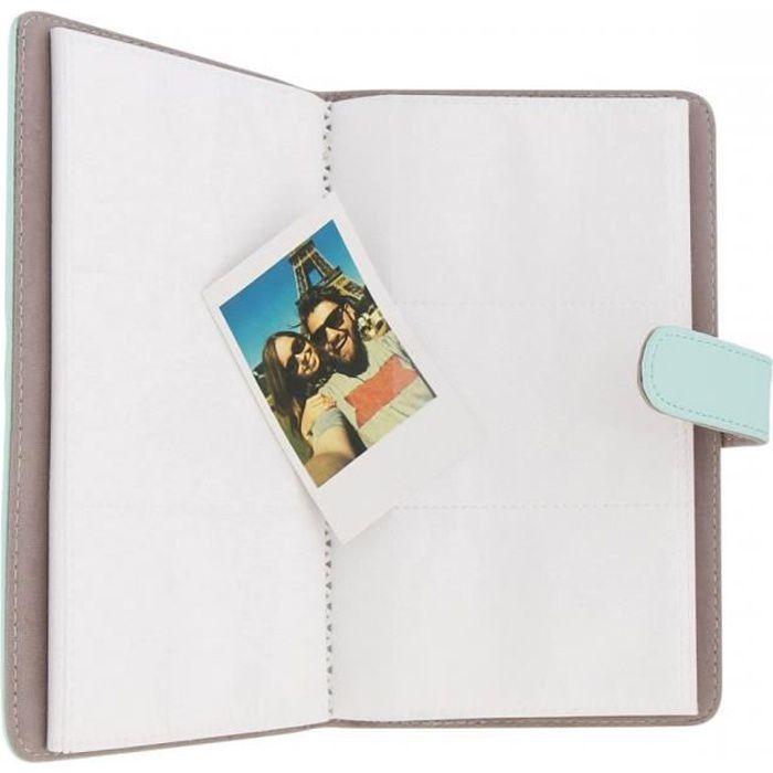TNB LENSY - Album photo Instax mini 108 photos Bleu