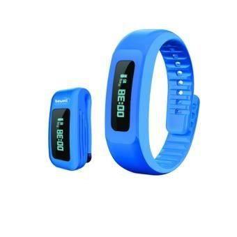 Bracelet et clip ceinture pour Bracelet connecté MYCOACH BW-F17B Bleu