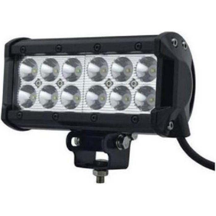 PHARE FEUX DE TRAVAIL PROJECTEUR LED 12-24V RAMPE D/'ECLAIRAGE 4x4 BATEAU CAMION