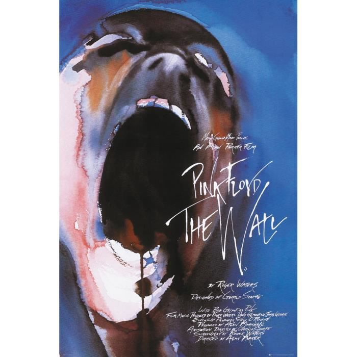 Affiche Maxi Pink Floyd The Wall 61 X 91 5 Cm Achat Vente