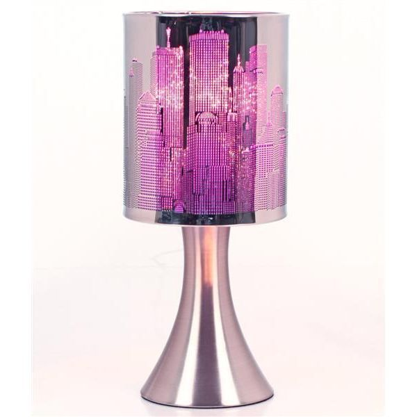 lampe touch violette achat vente lampe touch tactile. Black Bedroom Furniture Sets. Home Design Ideas