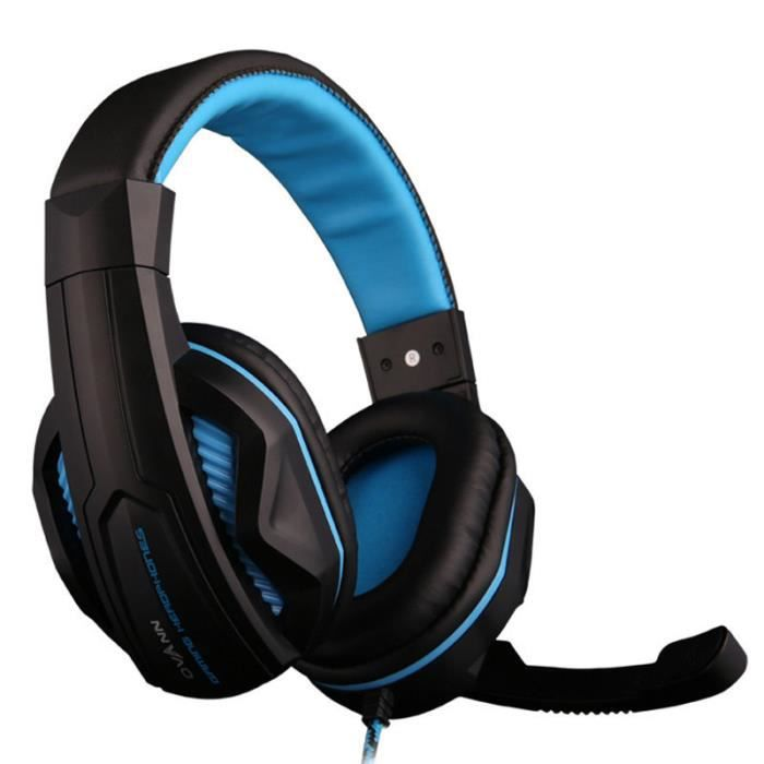 ovann x2 pc gaming headphones casque audio avec micro. Black Bedroom Furniture Sets. Home Design Ideas