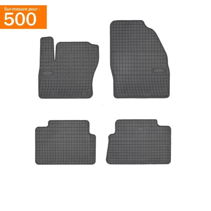 tapis fiat 500 c achat vente pas cher. Black Bedroom Furniture Sets. Home Design Ideas