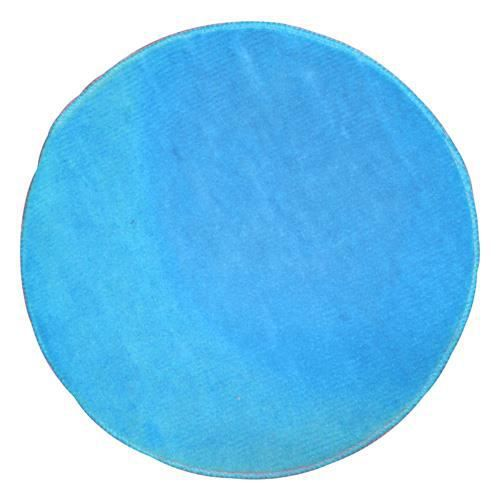tapis de salle de bain rond bleu clair achat vente tapis bain cdiscount. Black Bedroom Furniture Sets. Home Design Ideas