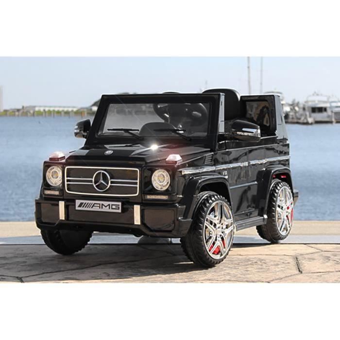 voiture lectrique pour enfant 4x4 mercedes g65 noir. Black Bedroom Furniture Sets. Home Design Ideas