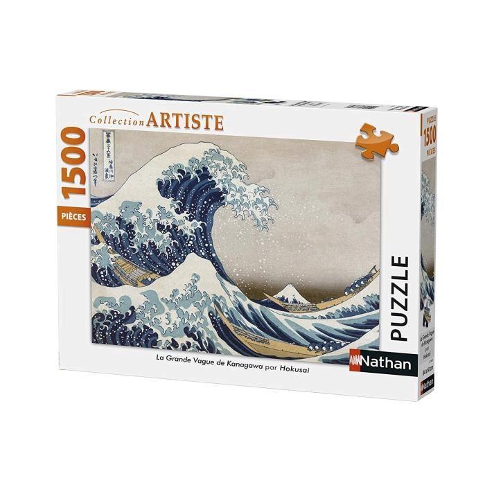 Puzzle La Grande Vague De Kanagawa Hokusai Cdiscount Jeux Jouets