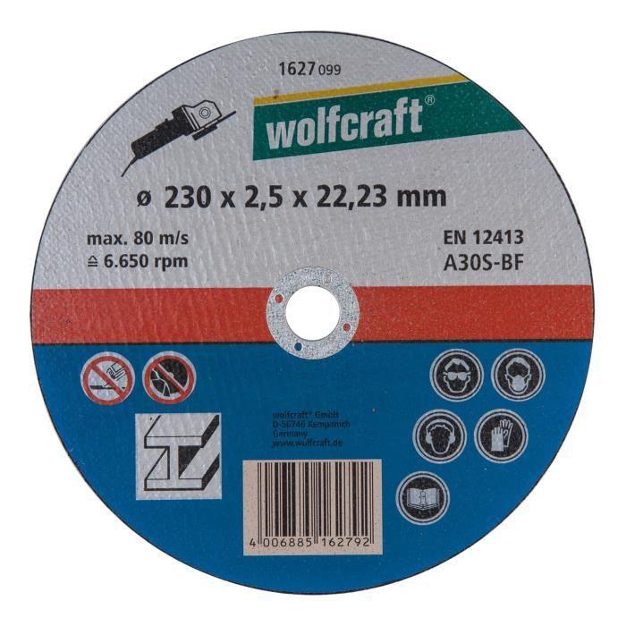230mm x 3 x 22,2 Disque à tronçonner les métaux pro
