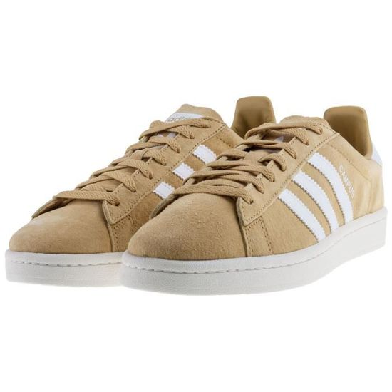 adidas Originals Baskets Campus Homme Moutarde Foncé