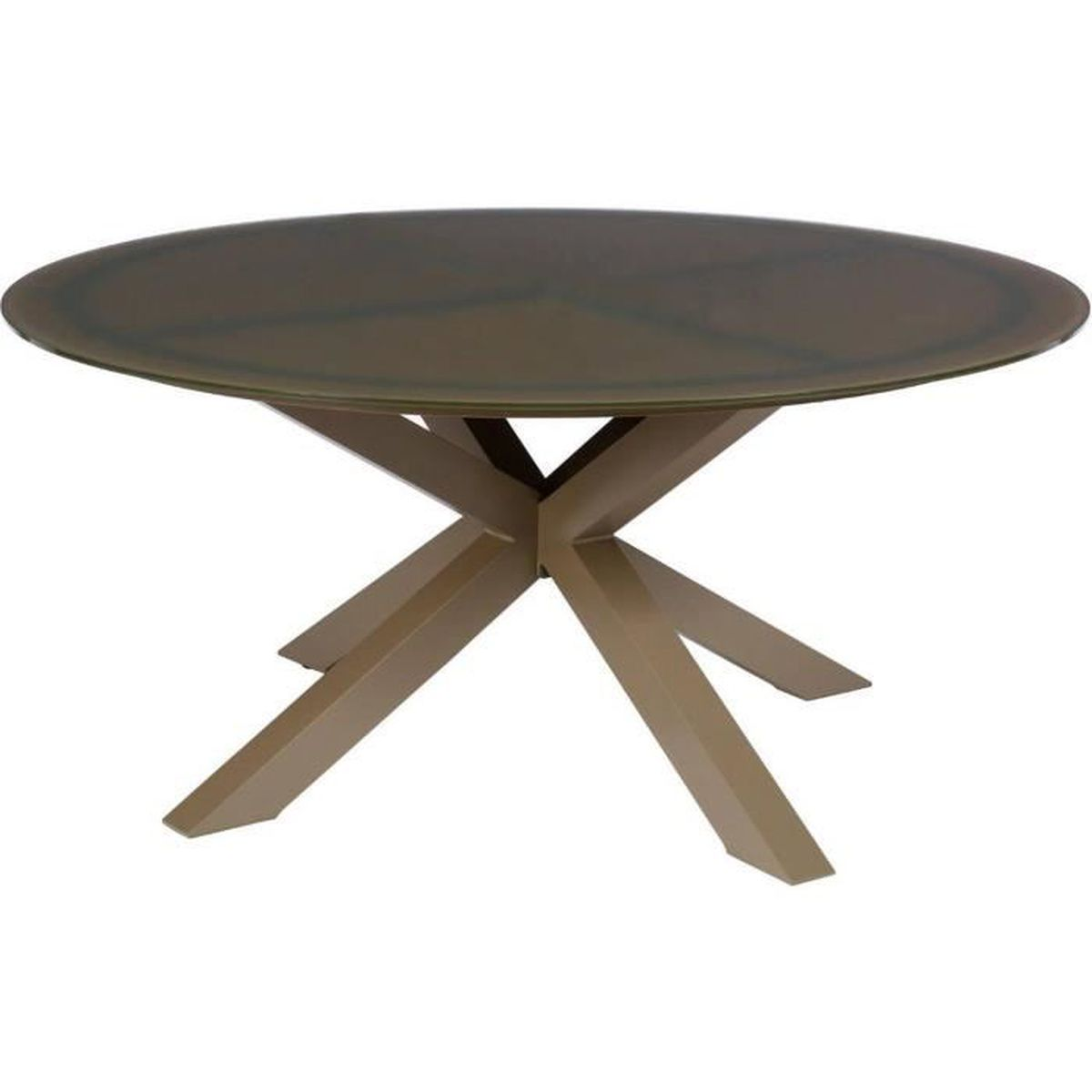 Emejing table ronde jardin solde photos amazing house for Vente table jardin