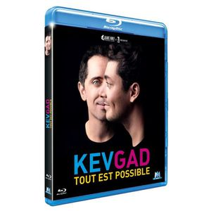 BLU-RAY SPECTACLE Blu-ray Kev Gad : Tout est possible