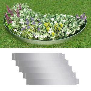 CLÔTURE - GRILLAGE Lot de 5 pcs Clôture flexible de pelouse Bordures