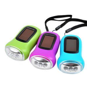 USB 1+ sortie Velleman ZL388//3 Dynamo Lampe de poche 5 DEL 3 in environ 7.62 cm