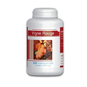 CIRCULATION SANGUINE Tisagne de feuille de vigne rouge bio Vitis Vinife