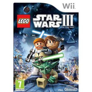 JEU WII LEGO Star Wars 3: The Clone Wars (Nintendo Wii) [U