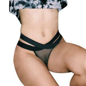 STRING - TANGA Femmes sexy Bandage Slips Culottes Lingerie Thongs