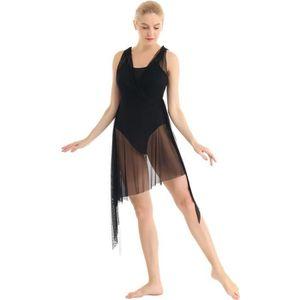 TUTU - JUSTAUCORPS Robe Danse Contemporaine Femme Robe Patinage Artis