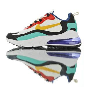 BASKET Baskets Nike Air Max 270 React Homme et Femme Blan