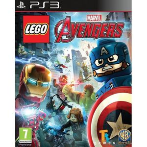CONSOLE PS3 Lego Marvel's Avengers Playstation 3 PS3 jeux enfa