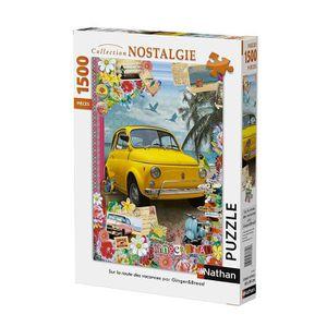 PUZZLE Puzzle Sur la Route des Vacances 1500 pcs