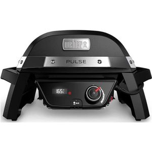 BARBECUE DE TABLE WEBER Barbecue électrique Pulse 1000 - Fonte d'aci