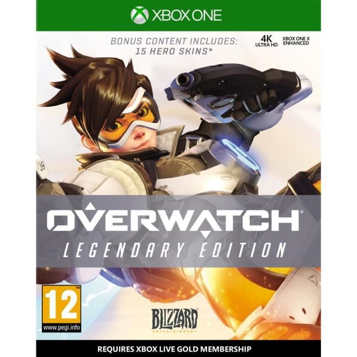 Overwatch Legendary Edition Jeu Xbox One